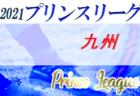 高円宮杯 JFA U-18 サッカープリンスリーグ2021 九州 第3節4/17結果掲載!次節4/29