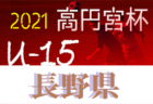 2021年度 JFA第44回全日本U-12 サッカー選手権和歌山県大会 11/7〜開催!組合せ掲載