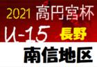 U-13サッカーリーグ2021長野 次回開催日時情報募集