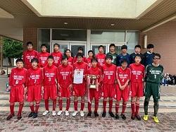 2020年度 和歌山県中学校サッカー新人選手権大会 優勝は近大附属和歌山中!
