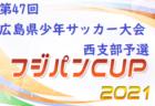 2021年度 第74回広島県高校総合体育大会サッカー男子の部 尾三地区予選 優勝は如水館!