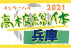 2021年度 兵庫県高校総体サッカー競技(インターハイ予選)<男子の部> 5/16全結果!準々決勝は5/29 選手権シードのベスト8決定!