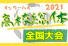 2021年度 全国高校総体 サッカー競技 男子 インターハイ 全国大会 8/14~8/22開催!7/3組合せ抽選会!