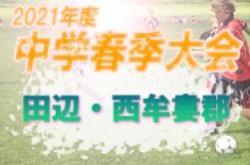 2021年度 田辺・西牟婁郡中学校サッカー選手権大会 (和歌山県) 優勝は富田中学校!