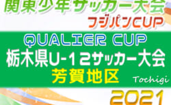 2021年度 QUALIER CUP栃木県U-12サッカー大会 芳賀地区予選 4/18 1回戦リーグ全結果&4/24 2回戦リーグ組合せ掲載!