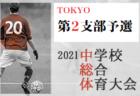 2021年度 大阪中学校サッカー選手権大会 豊能地区予選(大阪)優勝はアサンプション!