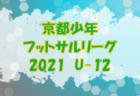 高円宮杯JFAU-18サッカーリーグ2021 OSAKA・1部・2部(大阪)4/29結果速報!