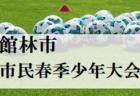 2021年度 高知県中学校サッカー春季大会 優勝は明徳義塾!