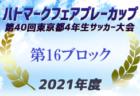 2021年度 JFA第44回全日本U-12 サッカー選手権和歌山県大会 日高予選 優勝はブレイズ湯浅!未判明分情報提供お待ちしています