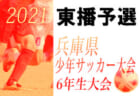 2021年度 第54回兵庫県少年サッカー大会6年生大会 川西猪名川予選 組み合わせ掲載 5/5.9開催!