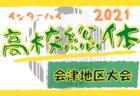 2021年度 バーモントカップ第31回全日本U-12フットサル選手権大会 道東ブロック大会(北海道)全道大会出場チーム決定!
