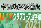 2021年度 第45回日本クラブユースサッカー選手権U-18大会 中国地区予選会 決定戦は6/21開催
