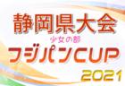 2021年度 フジパンカップU-12 少女の部 静岡県大会  優勝はSATOなでしこ!
