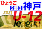 2021年度 神戸市サッカー協会U-12少年サッカーリーグ1部A(兵庫)4/24.25結果! 次回5/11以降に延期