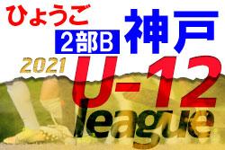 【延期】2021年度 神戸市サッカー協会U-12少年サッカーリーグ2部B(兵庫)次回6/5以降に延期