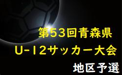 2021年度AOFA第53回青森県U-12サッカー大会弘前地区予選 全試合結果掲載!