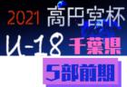 速報!高円宮杯JFA U-18サッカーリーグ2021千葉 Div.3  5/16結果速報!リーグ表入力をお願いします