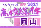 2021年度 第42回熊本市中学校サッカー選手権大会 優勝は力合中!