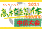 2021年度 新潟高校 春季地区体育大会 サッカー競技 新潟地区大会 優勝は日本文理高校!