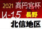速報!2021年度 第73回 愛媛県中学校総合体育大会サッカー競技 優勝は三津浜中学校!結果表掲載!