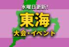 関西地区の今週末のサッカー大会・イベントまとめ【4月29日(木,祝)~5月5日(水,祝)】