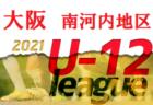2021年度 第45回全日本U-12サッカー選手権大会(全日リーグ) 豊能地区 大阪  10/16結果速報!日程情報お待ちしています!