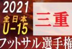 2021年度 バーモントカップ第31回全日本U-12フットサル選手権大会 北海道大会 LIV FC、北郷瑞穂少年団が全国大会出場!
