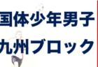 2021国民体育大会第41回九州ブロック大会サッカー競技少年男子 8/7開幕!組み合わせ決定!