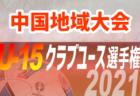 2021年度 第47回 鳥取県中学校総体サッカー競技大会  優勝は鳥取東中学校!