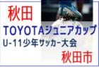 2021年度  富山市中学校総合選手権大会サッカー競技(富山県)優勝は速星中学校!
