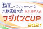 2021年度 第36回日本クラブユースサッカー(U-15)選手権大会山口県予選 結果速報! 5/8