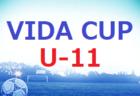 2021 VIDA CUP U-10 福岡県 大会の結果情報お待ちしています