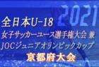 2021年度 第4回カマラーダフェスティバル U-11(奈良県) 台風の影響で中止!