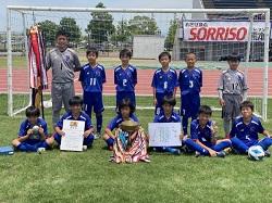 2021年度 第47回熊日学童オリンピックサッカー競技大会(熊本)優勝はソレッソ!