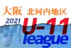 2021年度 4種リーグU-11 三島地区 大阪 10/23.24結果速報!