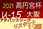 2021年度 関西女子サッカーリーグ 1部、2部 10/17結果掲載!次回10/31