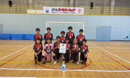 2021年度JFAバーモントカップ第31回全日本U-12フットサル選手権 山口県大会 優勝はSSS山口FC!