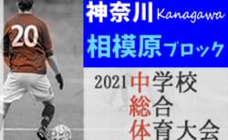 速報!2021年度 相模原市中学校総合体育大会 (神奈川県) 優勝は大野南!相模原市28校の頂点に!! 大野台とともに県大会出場!情報ありがとうございます!