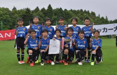 2021年度 第18回NISSANいわきジュニアカップ いわき地区予選(福島)優勝はバンディッツいわき!