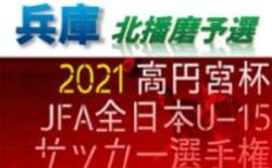 2021年度 第55回兵庫県中学生サッカー選手権大会 北播磨予選 8月上旬〜開催 情報募集中