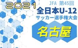 2021年度 第45回 JFA全日本U-12少年サッカー選手権 愛知県大会 名古屋代表決定戦 10/23,30開催予定!要項掲載!