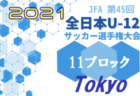 2021年度 第22回JAあいち知多U-10サッカー大会(愛知)2回戦10/24結果速報!