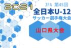 2021年度 第45回全日本U-12サッカー選手権  静岡東部 富士富士宮予選(岳南予選)次回日程情報募集!