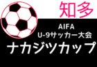 2021年度 ナカジツカップ 第2回U-9サッカー大会 知多地区大会(愛知)組み合わせ掲載!10/9開幕!