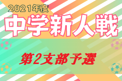 2021年度 第65回東京都【第2支部】中学校サッカー新人戦ブロック大会 世田谷予選開催中!