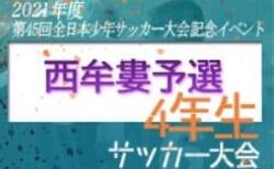 2021年度 第45回全日本少年サッカー大会記念イベント4年生サッカー大会 西牟婁予選 優勝は南紀JSC!未判明分のスコア情報お待ちしています