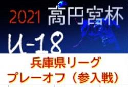 高円宮杯 JFA U-18サッカーリーグ2021兵庫県リーグ プレーオフ 組合せ掲載!日程非公開