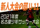 2021年度 JFA第45回 全日本U-12 サッカー選手権大会 徳島県大会 10/23./24結果掲載!次戦3回戦11/3