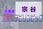 2021年度 第19回JA全農杯全国小学生選抜サッカーIN北海道 根室地区予選 優勝はFC中標津!