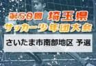 2021年度 市長杯大会(川口市少年サッカー連盟)埼玉 決勝パート日程募集